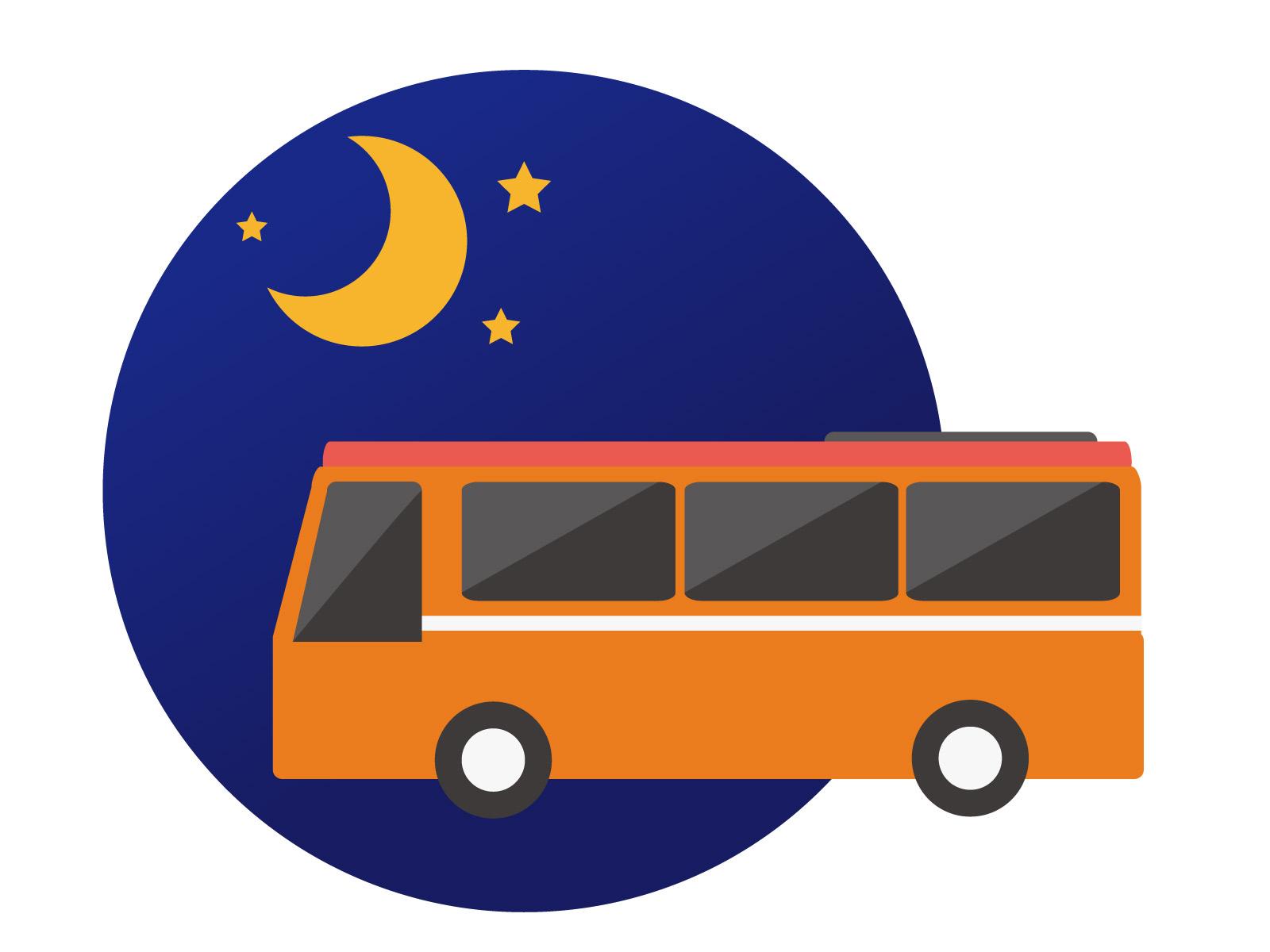夜行バスで足のむくみ