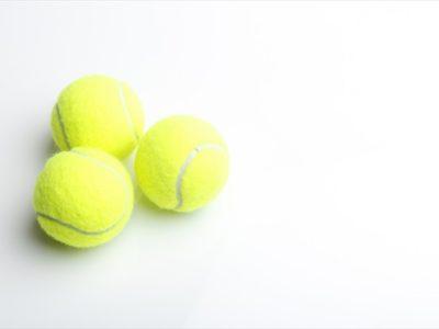 足のむくみとテニスボール