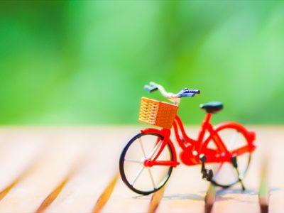 自転車で脚痩せ