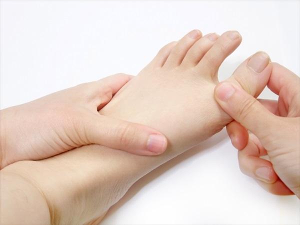足の指の毛